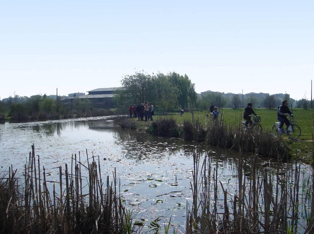 Parco Nord dan elemen alam sebagai media rekreasi lintas generasi (sumber: dokumen penulis)